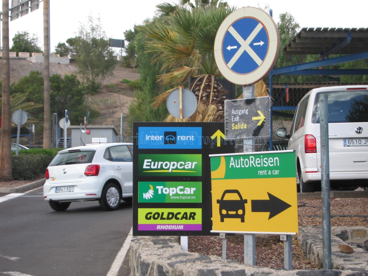 Car hire Tenerife airport south AutoReisen